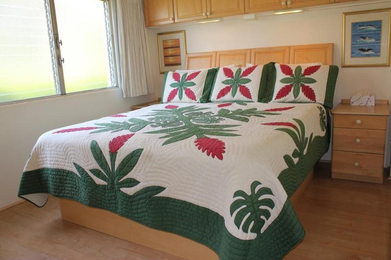 KING SIZE BED FOR A COMFORTABLE GOOD NIGHT SLEEP - ***CLEAN*** New Remodel Oceanview 200 Steps from Beach Snorkeling/Swimming - Kihei - rentals