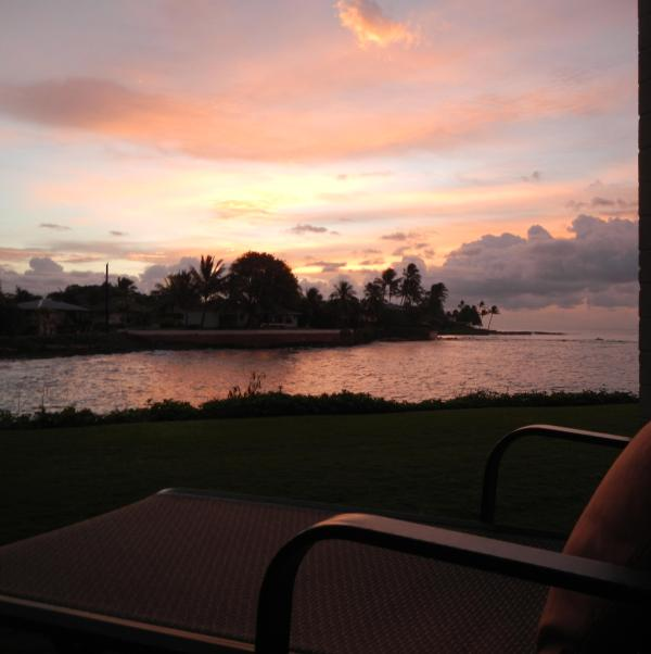 Sunrise in paradise - Kuhio Shores, Poipu-Oceanfront Beauty - Poipu - rentals