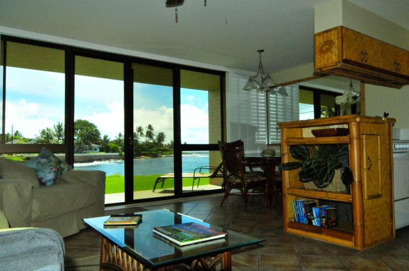Spectacular Views! - Kuhio Shores, Poipu-Oceanfront Beauty - Poipu - rentals