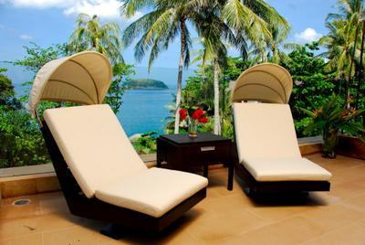 Designer furniture throughout - 1st ROW Waterfront Luxury Villa With CHEF - Kata - rentals