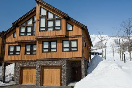 Front of Old Man Creek - FREE SNOW VAN Niseko Ski Chalet - on the Mountain - Kutchan-cho - rentals