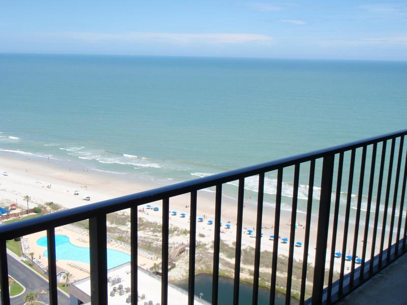 See the stunning views for yourself right from your balcony! - Amazing Oceanview 2 Bedroom Ren. Tower at Myrtle B - Myrtle Beach - rentals