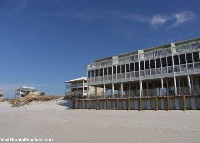 Beach Front Townhome - Image 1 - Cape San Blas - rentals