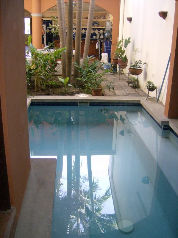 Pool view to garden - Casa Flor de Luna - Live the dream - Granada - rentals