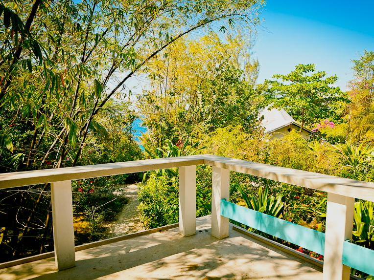 View from Big Grape sun deck - Charming & Spacious Seaside House - Negril - rentals