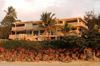 View from the Beach - One-of-a-Kind Breathtaking Luxury Beachfront Villa - Haleiwa - rentals