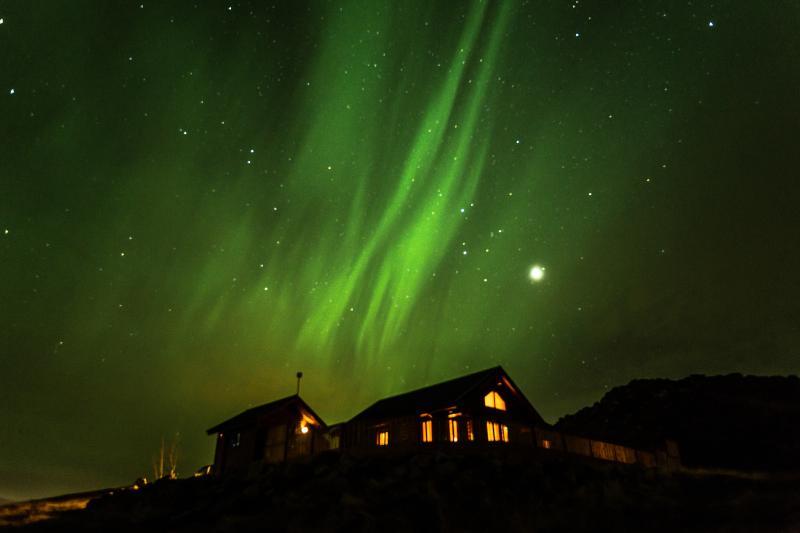Cedar Log Cabin, in December 2013 - Cedar Log Cabin, 4 bed, Golden Circle, Iceland - Selfoss - rentals