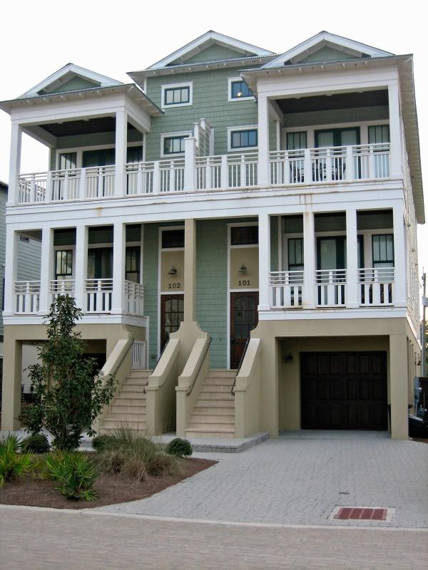 Front of home - Beautiful Gulf View Home, 100 yards to the Beach! - Panama City Beach - rentals