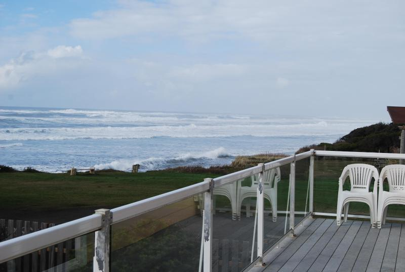 View from the deck - OurSandCastle Luxurious Yachats Vacation Rental - Yachats - rentals