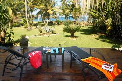 Garden front sea - Villa Ibiscus,  Come to the Paradise, Front sea! - Santa Barbara de Samana - rentals