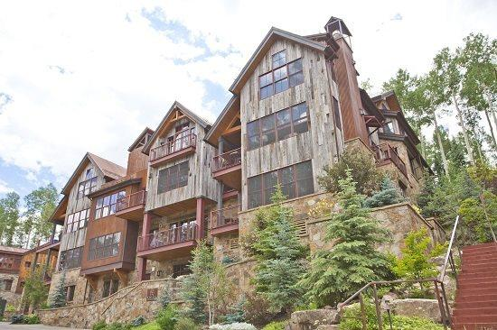Trails Edge Exterior - 9 Trails Edge - Brand New Luxurious Ski In Ski Out - Telluride - rentals