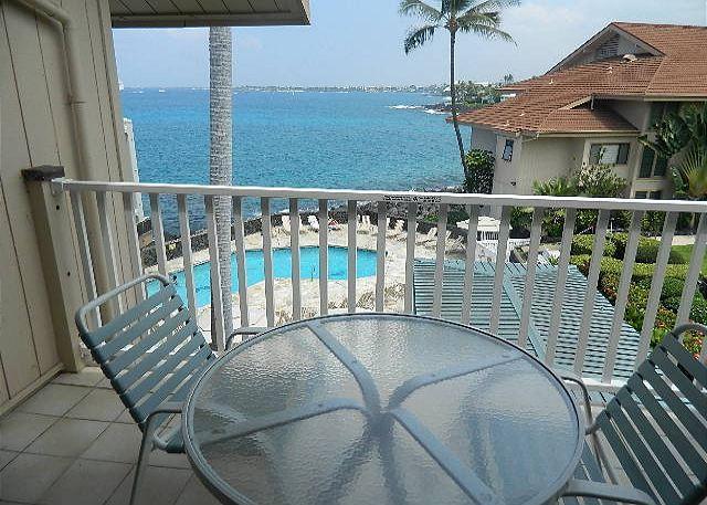 Lanai - Beautiful 2 bedroom 2 bath with great ocean view!-SV3309 - Kailua-Kona - rentals