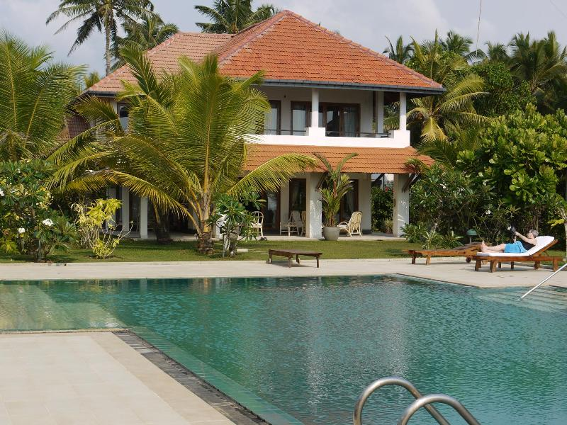 Villa Margareta seen from the beachside - Beach Villa, Wadduwa, Western Province, Sri Lanka - Western Province - rentals
