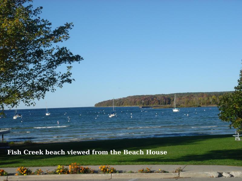 Water View - The BEACH HOUSE - Book now for Spring - Image 1 - Fish Creek - rentals