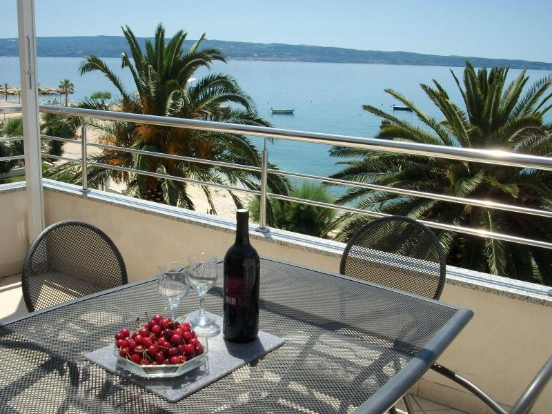 View from your private terrace - Magical Sunset Apartment - Podstrana - rentals