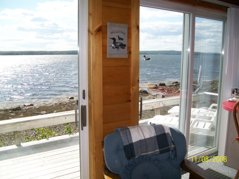 Water view from living room - Edgewater waterfront 2 bedrooms 2 baths  sunsets - Trenton - rentals