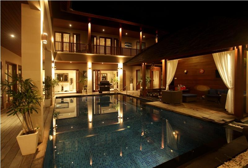The Pool and Terrace - SEMINYAK 6 Bdrms/9 beds, Great Location And Value! - Seminyak - rentals