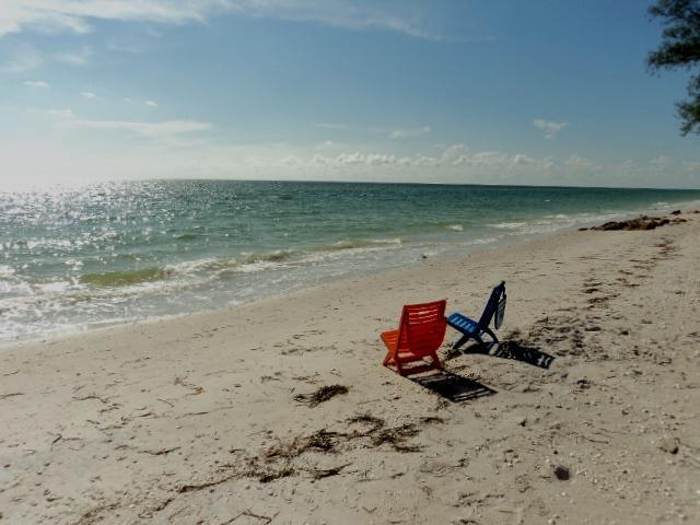 Private beach on Gulf Coast - 2B Manasota Key, Private Beach, Docks and Ramp - Englewood - rentals