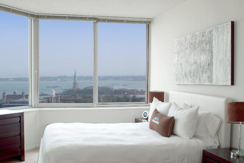 Master Bedroom - Sky City at Exchange- 2 bedroom - Jersey City - rentals