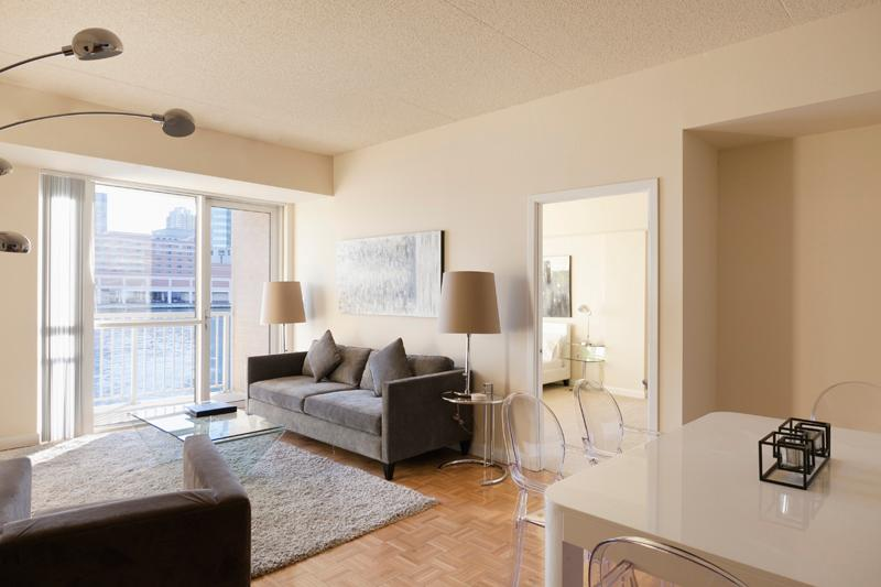 Sky City at The Harbor - 2-bedroom with private ba - Image 1 - Jersey City - rentals