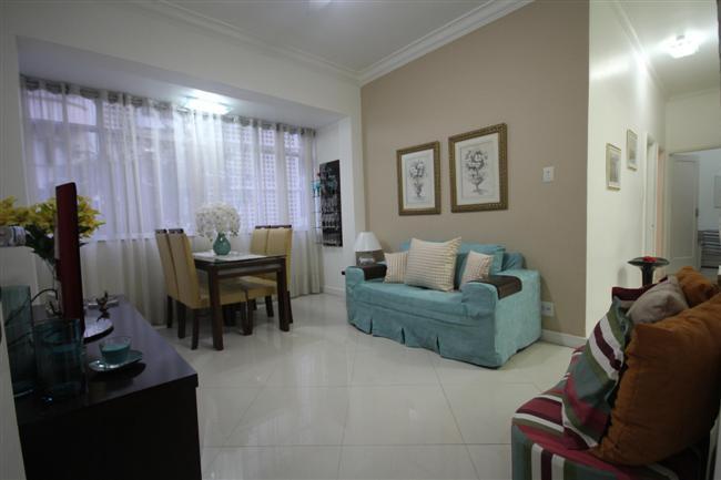 sala - Maravilhoso Apartamento Em Copacabana - Rio de Janeiro - rentals