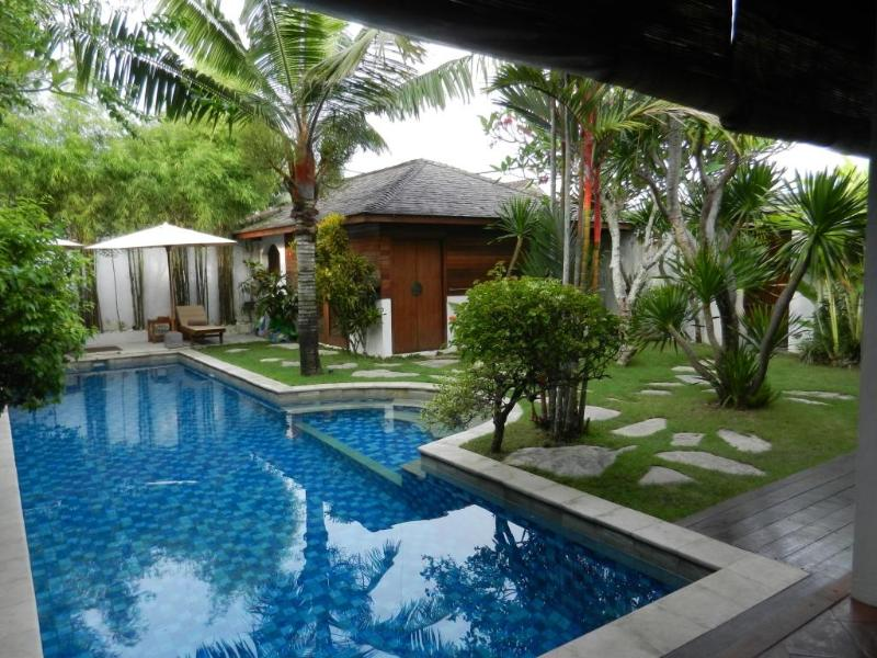 living area to pavilion bedroom - SEMINYAK private 13m POOL 2lgebrms LOCATION - Seminyak - rentals