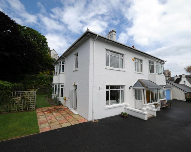 View of house from car park - Westaway Villa - Ilfracombe - rentals
