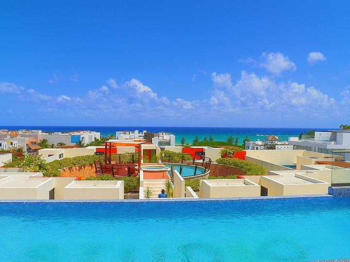 View to the Caribbean - Studio 1 -  Luxury Condo for rent Coco Beach - Playa del Carmen - rentals