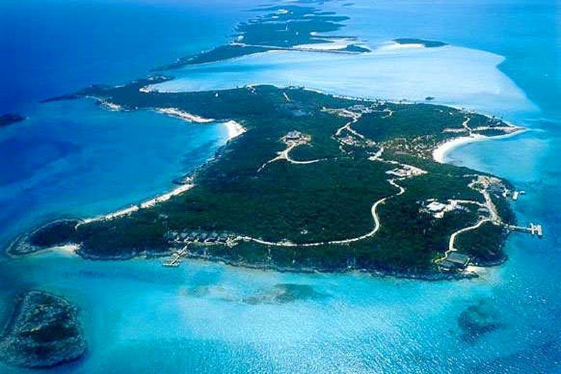 - Musha Cay - Staniel Cay - rentals