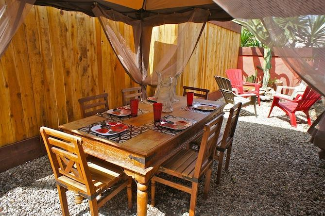 Outdoor Dining Cabana - Bodhi Venice Retreat,walk to Abbot Kinney, beach - Los Angeles - rentals