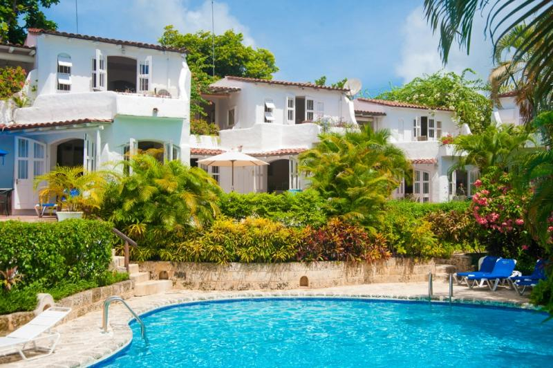Merlin Bay - Nutmeg at Merlin Bay, Barbados - Beachfront, Pool, Lush Tropical Landscaping - Image 1 - Merlin Bay - rentals