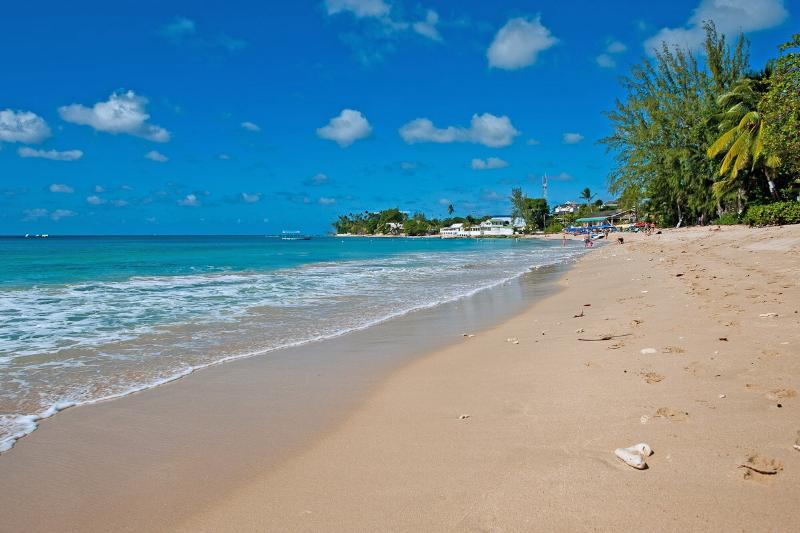 Whitecaps at Mullins, Barbados - Beachfront, Amazing Sunset View, Large Shady Open Air Terrace - Image 1 - Mullins - rentals