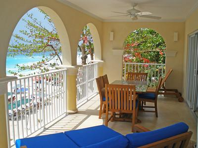 Sapphire Beach 201 at Dover Beach, Barbados - Beachfront, Gated Community, Communal Pool - Image 1 - Christ Church - rentals