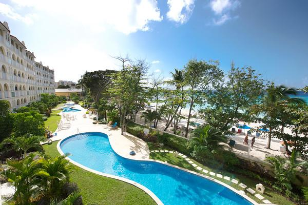 Sapphire Beach 203 at Dover Beach, Barbados - Beachfront, Gated Community, Communal Pool - Image 1 - Christ Church - rentals