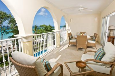 Sapphire Beach 205 at Dover Beach, Barbados - Beachfront, Gated Community, Communal Pool - Image 1 - Christ Church - rentals