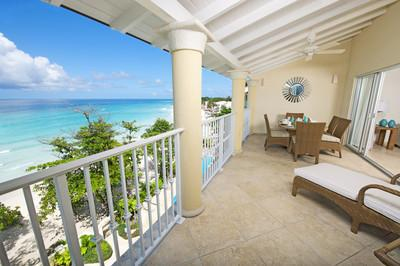 Sapphire Beach 509 at Dover Beach, Barbados - Beachfront, Gated Community, Pool - Image 1 - Christ Church - rentals