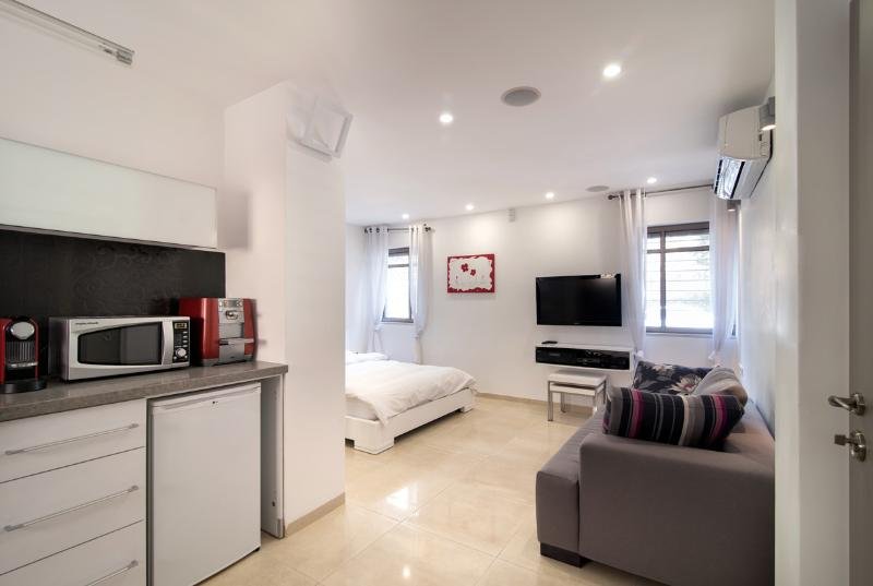 Fabulous new studio apt. in Baka (no stairs!) - Image 1 - Jerusalem - rentals