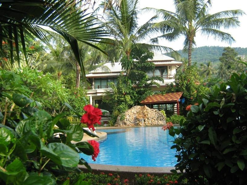 View from pool - Luxurious Magnificent Beach Villa - Koh Samui - rentals