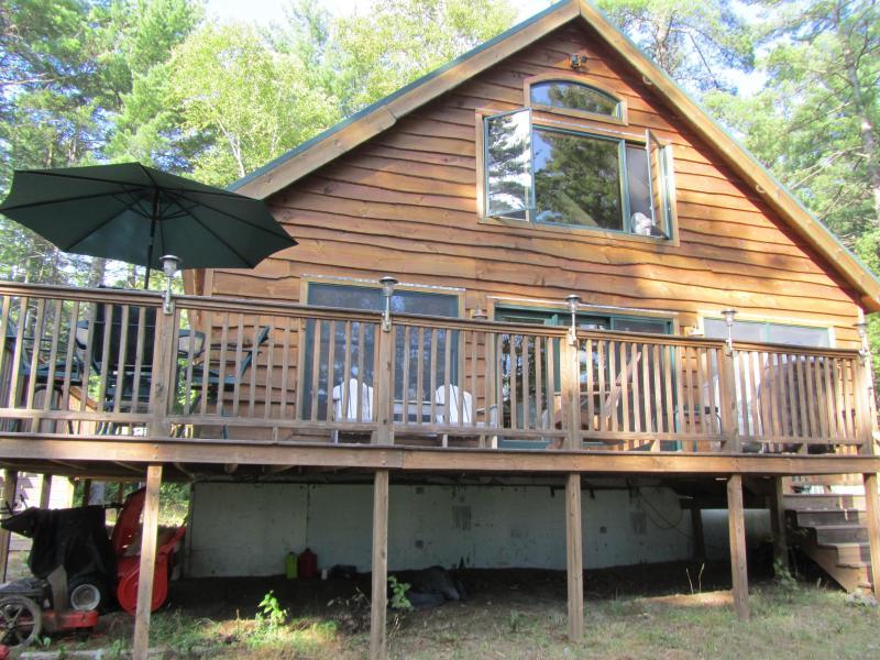 Cabin - Riverside 3 bedroom/bath cabin near Baxter Park - Millinocket - rentals