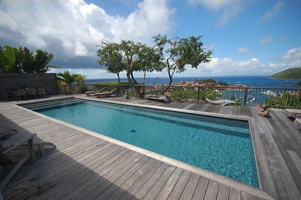 Beautiful hillside villa overlooking Gustavia, St Barts & harbor WV LJF - Image 1 - Gustavia - rentals