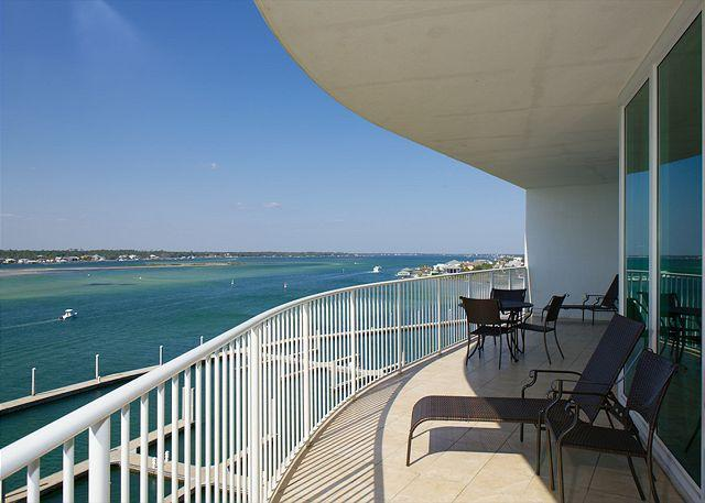 Balcony View - Caribe C604 - Open TODAY thru 12/25 - Great Time for a Getaway at Great $$ - Orange Beach - rentals
