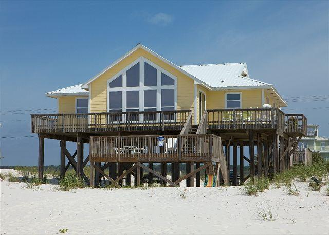 House View From Beach - Here to Dream -  Gulf Shores, AL - April Openings - 25% Off - Gulf Shores - rentals