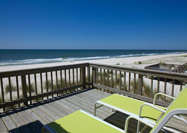 Deck View - 'Here to Dream' - Best View in Gulf Shores - 2016 is Booking Fast - Gulf Shores - rentals