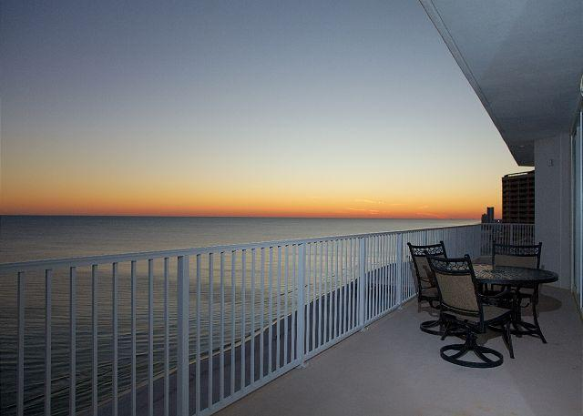 Weast Balcony View - Lighthouse 1418- Gulf Shores, AL - Open Dates: April 11-27 - Gulf Shores - rentals