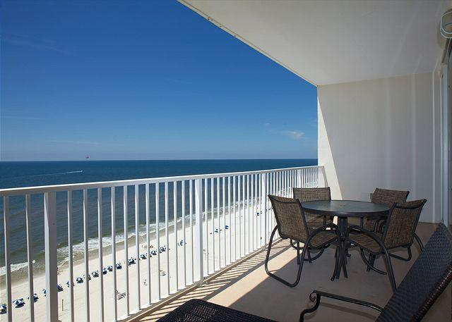 Deck View - Lighthouse 1207 - Fill In Specials - 5/29 to 6/3, 6/14 to 19 or 7/16 to 19 - Gulf Shores - rentals