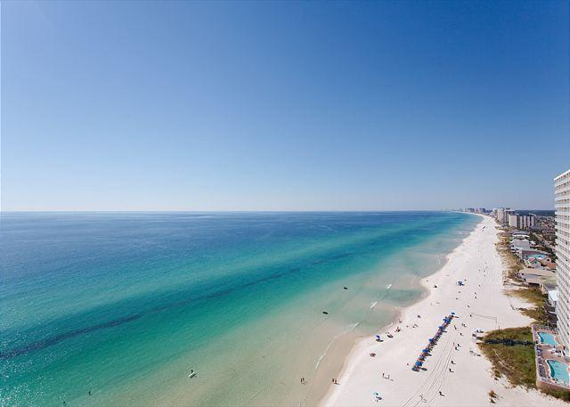 Balcony view to the west - Treasure Island - Booking for Spring 2016 - Gorgeous Views - Panama City - rentals