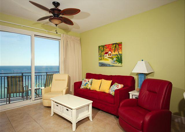 Living Room - Sterling Breeze * Fill In Special 6/10 to 13 or 7/29 to 8/3 - Panama City - rentals