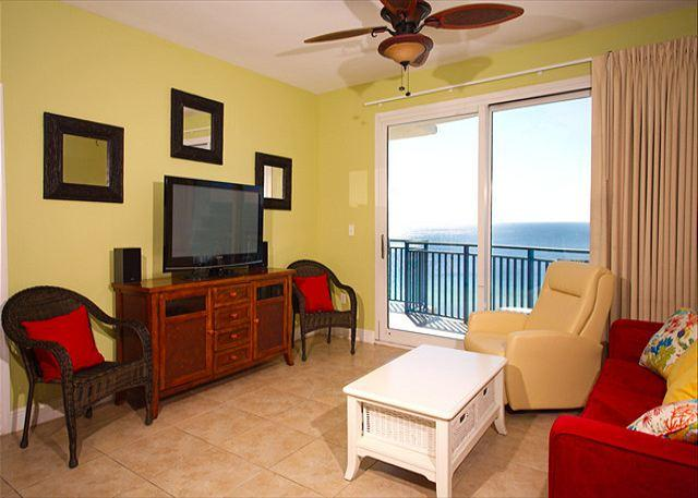 Living Room - Sterling Breeze - Family Deal$ for $pring Break - Open March 1-15 - Panama City - rentals