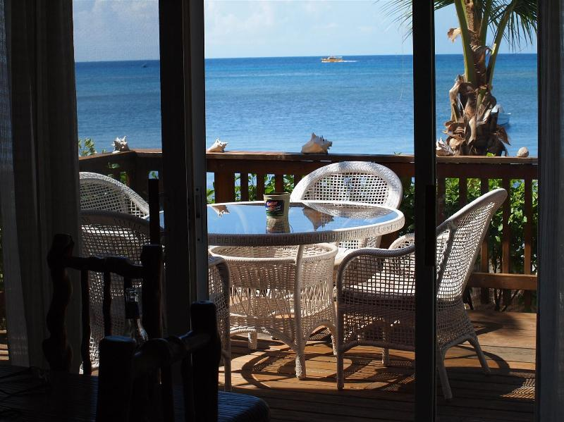 Your Deck with a View - Ocean & Beach Front Hideaway - West Bay - rentals