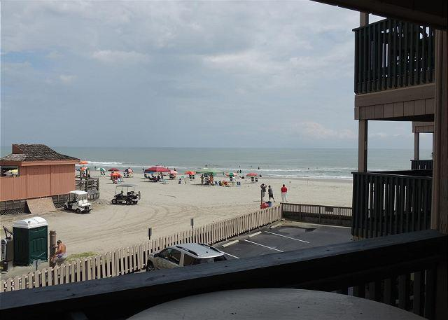 View From Balcony - Awesome Ocean View!! - 2 Bedroom, 2 Bath - A Place at the Beach III Unit #O2E - Myrtle Beach - rentals